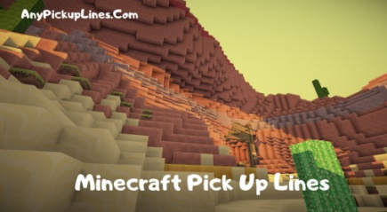 Minecraft Pick Up Lines