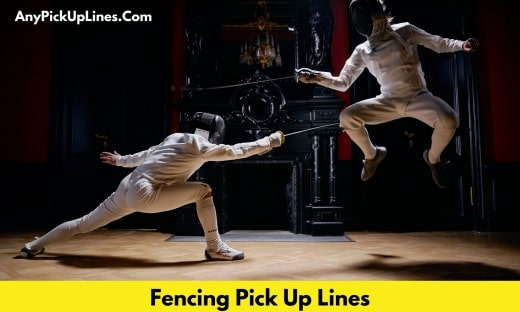 Fencing Pick Up Lines